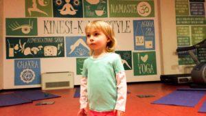 Viola e le sue prime esperienze di Yoga Kinesi-k®